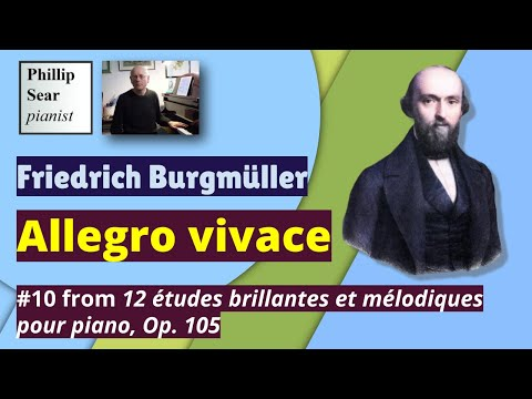 Johann Friedrich Franz Burgmller - Allegro Vivace