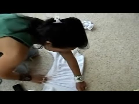 another Rocker style t-shirt cutting video by KANDEE