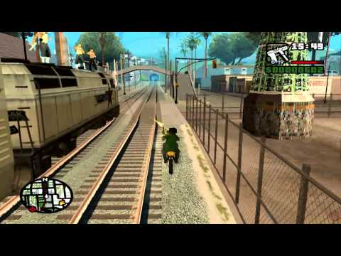 GTA San Andreas Mission 13 Wrong Side of The Tracks (PC)