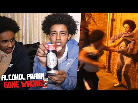 DRINKING ALCOHOL PRANK ON MUSLIM FRIEND *GONE WRONG*
