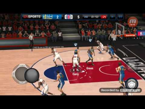 Los Angeles Clippers Vs Golden State Warriors 1st Half NBA LIVE MOBILE