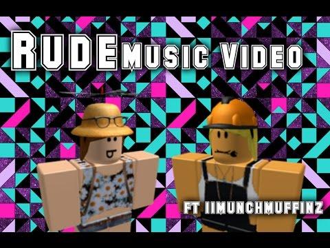 ROBLOX MUSIC VIDEO - Rude HD