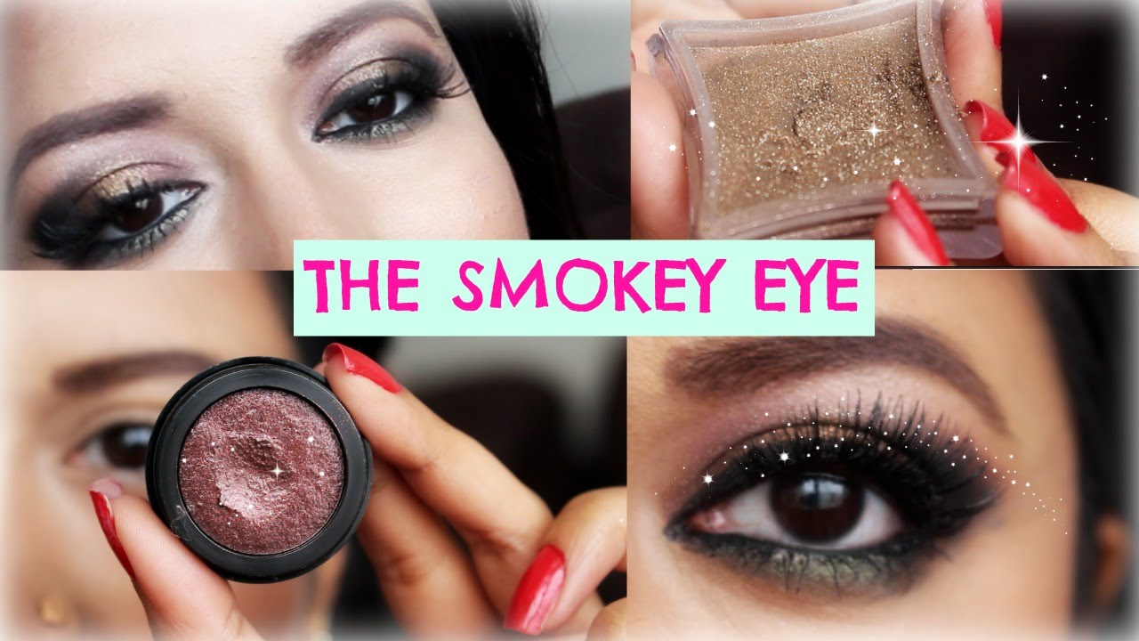 Eye makeup tutorial for green eyes