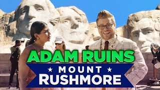 Why Mount Rushmore is the Weirdest Monument by : CollegeHumor