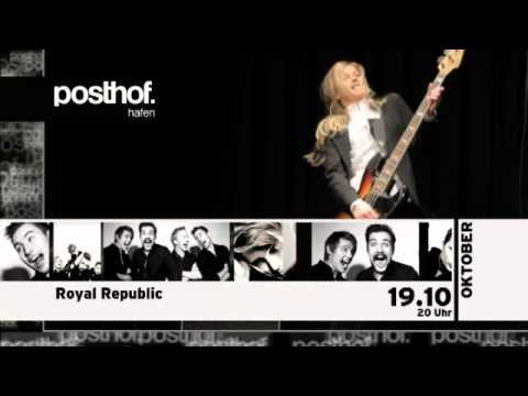 posthof-clip auf gotv mit Indie-Native # 10, Kreisky und Royal Republic.