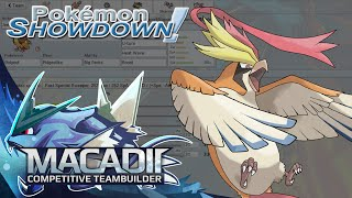Mega Pidgeot Pokemon Showdown OU Team Building w. macadii (Smogon ORAS OU Team)