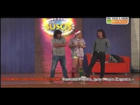Leonel Álvarez y René Higuita en The Suso's Show