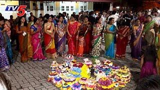Bathukamma 2017 Celebrations at Kuala lumpur in Malaysia by MYTA