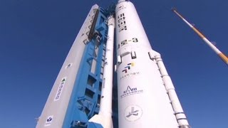 South Korea launches its own rocket 1/30/13