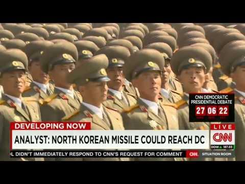 North Korea; Kim And His Missiles