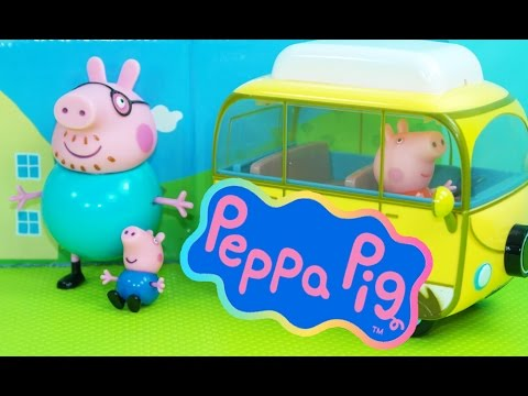 Toy Review Peppa Pig Character Toys