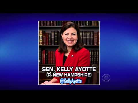 Letterman Mocks Kelly Ayotte