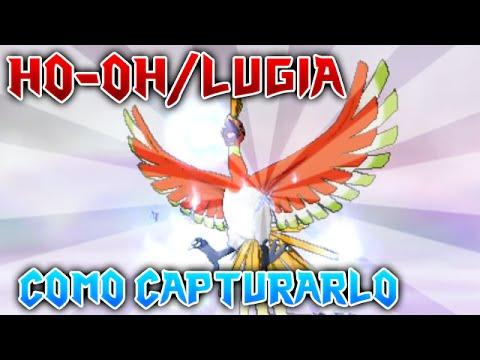 Pokémon Rubí Omega y Zafiro Alfa Como conseguir a Ho Oh Lugia