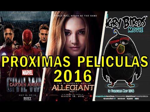 TOP Próximas Películas Para éste 2016 / Los Mejores Estrenos De Cine