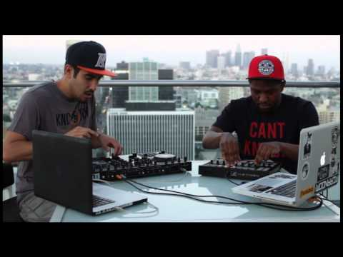 DJ Zo on Traktor Kontrol S4 with EOM on Maschine