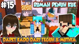 RUMAH VANIA DIPRANK PENUH KUE 🎂🎁🎈🎉 - Minecraft Sans SMP Indonesia