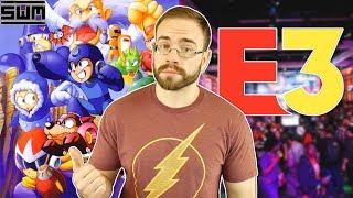 Nintendo's E3 Floor Space Revealed And Sega Adds Mega Man To The Genesis Mini | News Wave