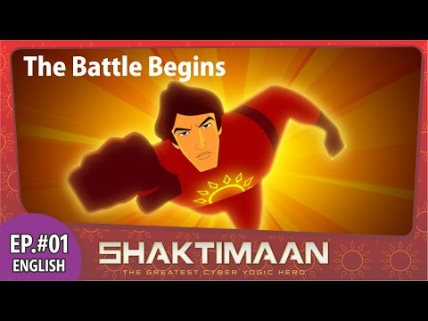 01 Shaktimaan Episode 1 English Animation Series video