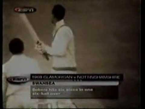 World Record Six Sixes In An Over By Sir Gary Sobers video