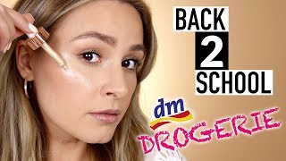 10 Minuten Back to School | Uni Makeup 👩🏻‍🎓 NUR GÜNSTIGE PRODUKTE