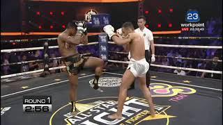 Buakaw VS Luis 👊Buakaw goes Super Saiyan