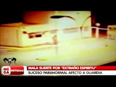 Fantasma ataca a guardia de seguridad