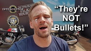 Foreigner 650 Twins Reaction 😲 Royal Enfield Interceptor & Continental GT 650 Review