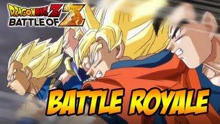 Dragon Ball Z: Battle of Gods - Dragon Ball Z: Battle of Z - PS3/X360/PSVITA - Battle Royal (Trailer Tokyo game Show 2013)