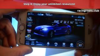 racing rivals hack 2017 get free unlimited coins and gems