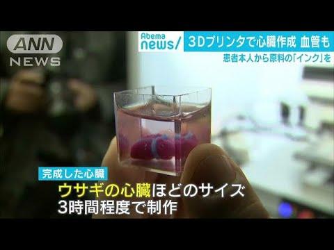 3Dプリンターで心臓を作成