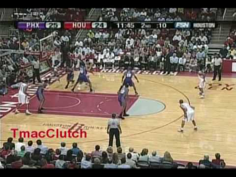Tracy McGrady 2006-2007: 39/11/9 & Yao 34 pts vs. Suns Nash 15/15 Amare 30 Pts Marion 27 Pts(Part 1)