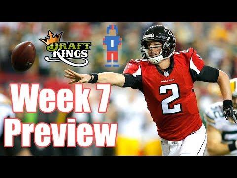 NFL Week 7 Preview & Picks - DraftKings