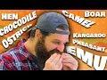 16 animals in 1 burger Taste Test