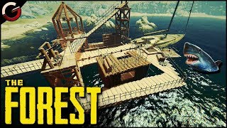 EPIC WATER BASE! BUILD and DEFEND on the YACHT | The Forest Gameplay
