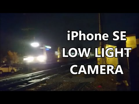 Apple iPhone SE Camera Low Light vs Sony Xperia Z5 Compact Night VIdeo Test