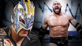 Kalisto responds to Ryback's WrestleMania challenge: March 16, 2016