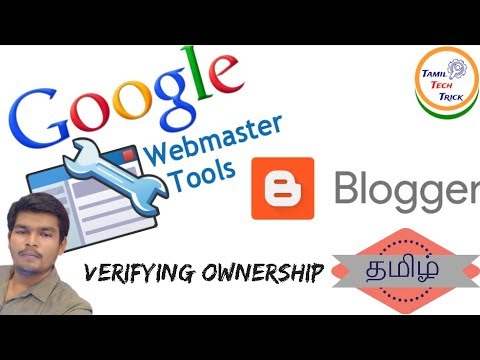 How to Verifying ownership of your Blogger site in Google Search Console/ Webmaster tool