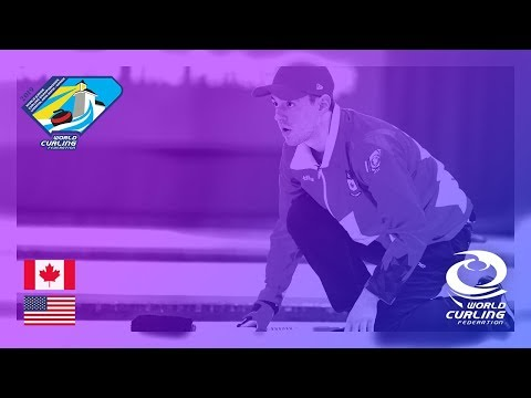 Canada v United States - Men's Round-robin - World Junior Curling Championships 2019