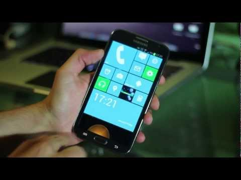 Launcher de Windows Phone 8 para Android