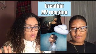 Ariana Grande - breathin | Official Music Video REACTION