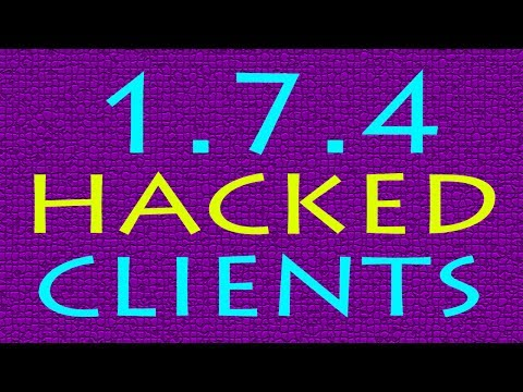 Minecraft - 1.7.4 Hacked Clients - WiZARD HAX