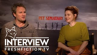 [SXSW Interview] 'PET SEMATARY' (2019) cast and directors on Kubrick-like horror