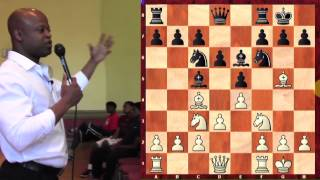 Chess for Football Players - GM Maurice Ashley - 2014.08.13