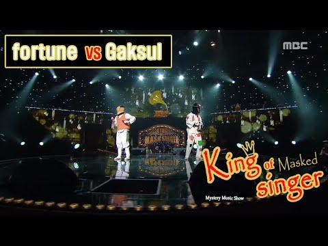 [King of masked singer] 복면가왕 - 'fortune' vs 'Gaksul' 1round - Ok Kyung I 20160207