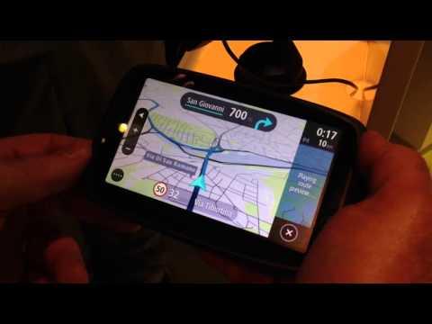 TomTom Go 2013 interface