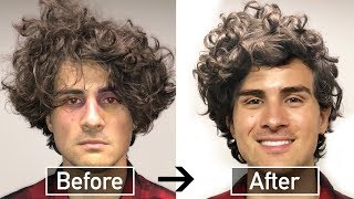 BEST CURLY HAIR TUTORIAL for MEN