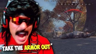 DrDisRespect SLAMS Desk From RAGE in Blackout   Best DrDisRespect Moments + INSANE Squad Game