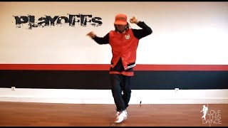 Hip Hop dance Tutorial |  PLAYOFFS with Fabbreezy
