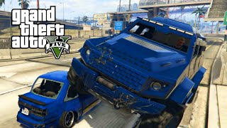 GTA 5 Online PC | CAT VS MOUSE | 10 PLAYER INSANE GAME