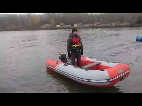 лодка аэро победа 350 видео